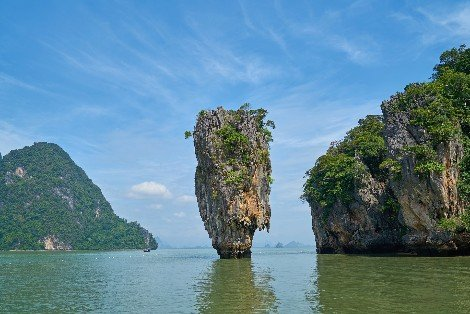Phang Nga Bay in Thailand