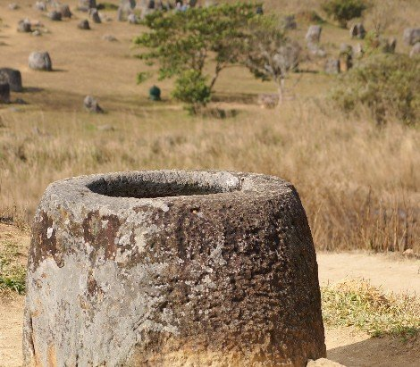The Plain of Jars is in Xiangkhouang Province