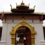 Main entrance to Pha That Luang