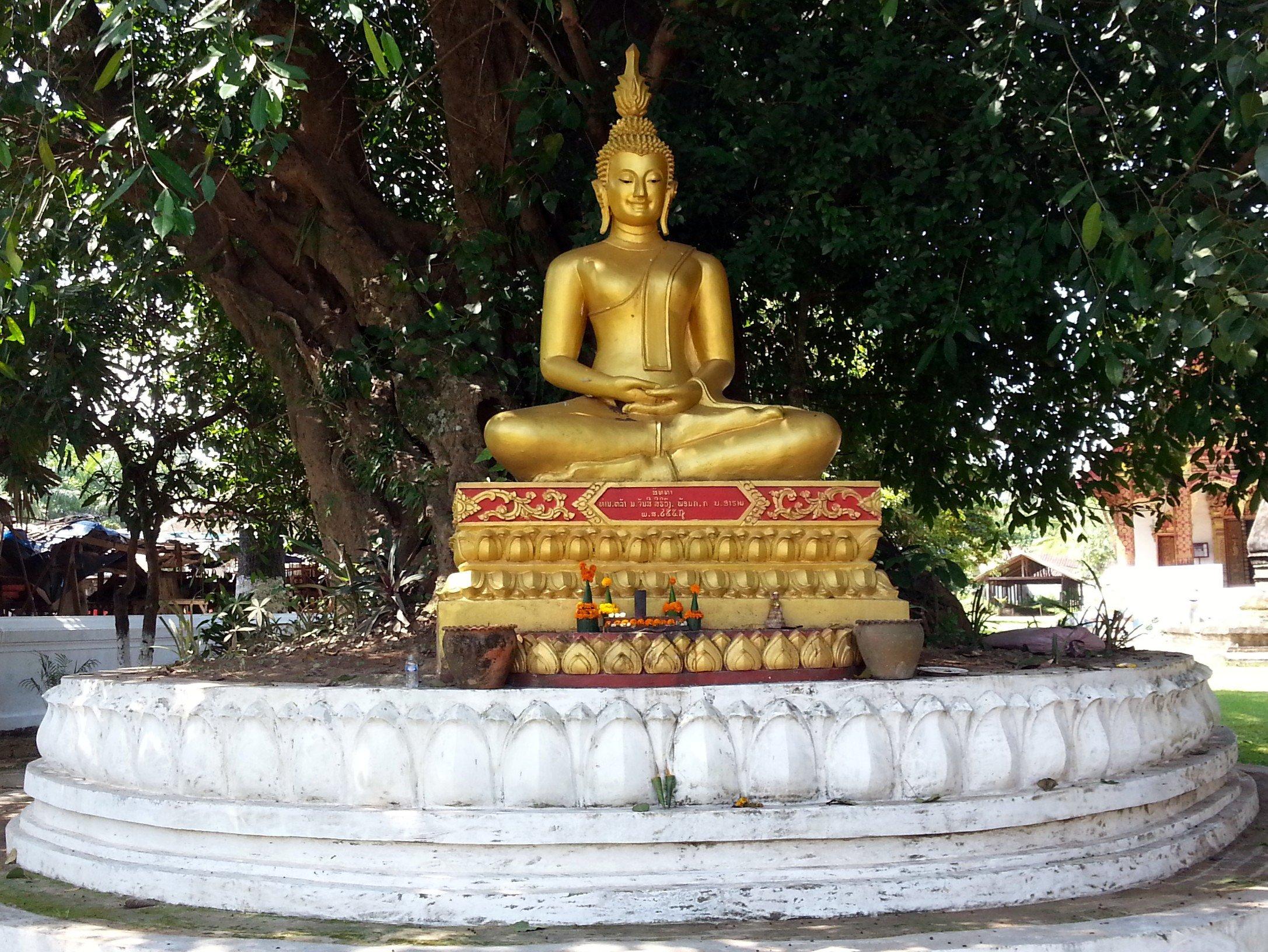 Buddha statue at Wat Aham