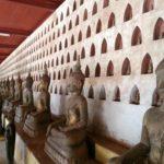 Large Buddha statues at Wat Si Sa Ket