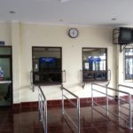 Ticket counters at Thanaleng Railway Station