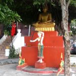 Buddha statue at Wat Aphay