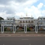 Rear view of Vientiane Presidential Palace