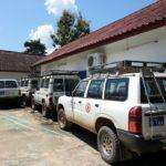 UXO Lao Luang Prabang vehicles