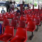 Waiting area at the Southern Bus Terminal