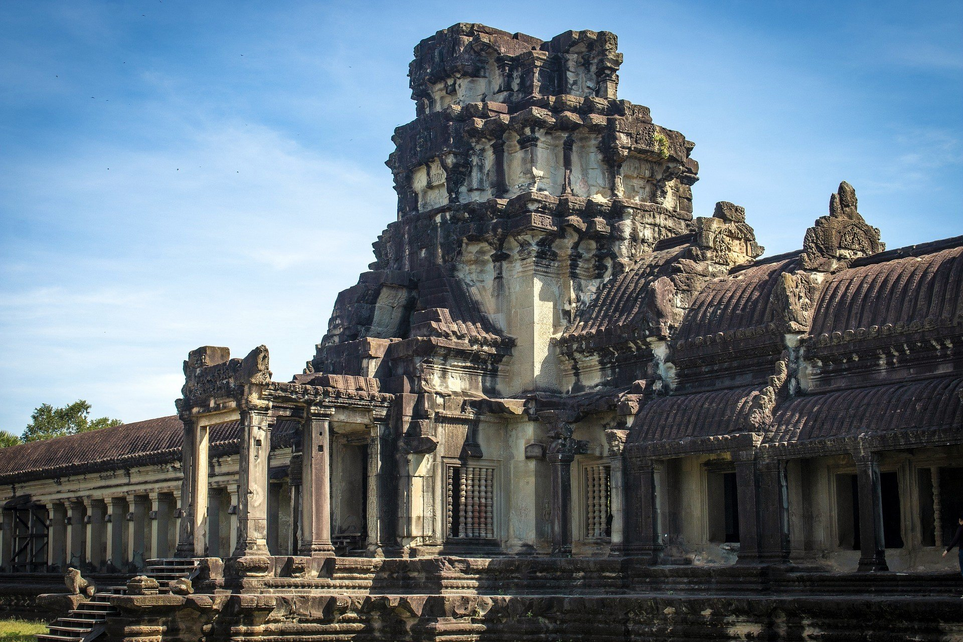 Siem Reap is near Angkor Wat