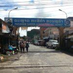 Phoukam Garden Agriculture Wet Market in Phonsavan