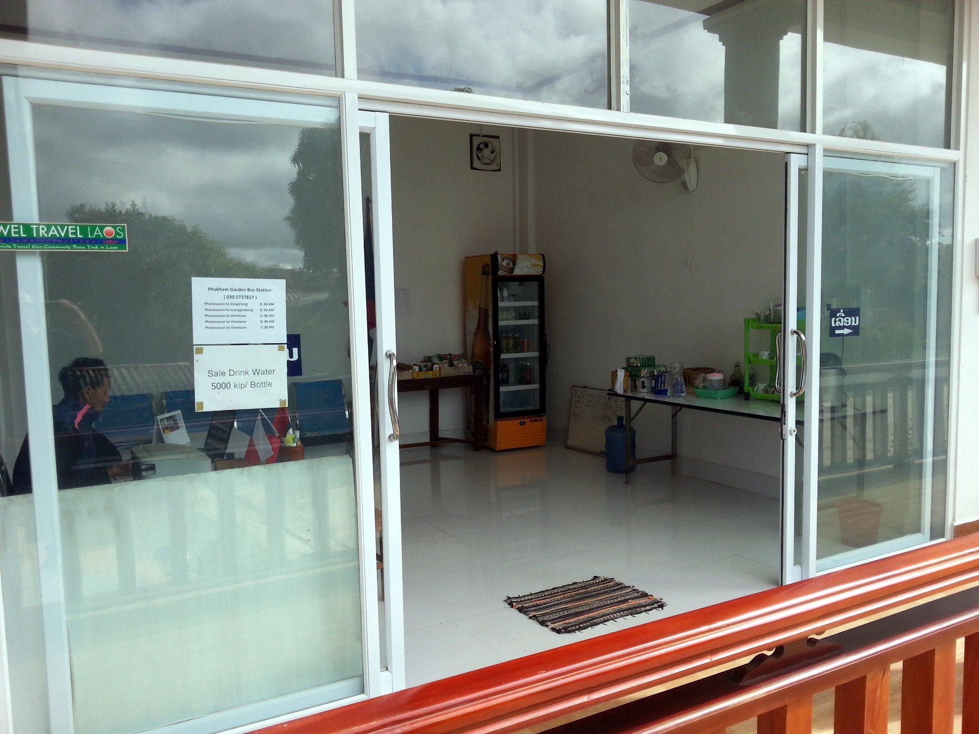 Reception at Sipanya Guesthouse