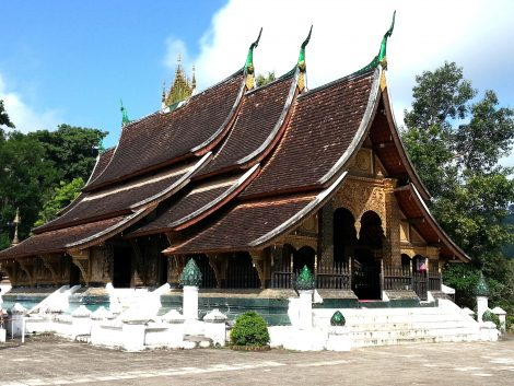 Wat Xieng Thong in Luang Prabang