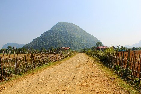 From Luang Namtha its 60 km by bus to China