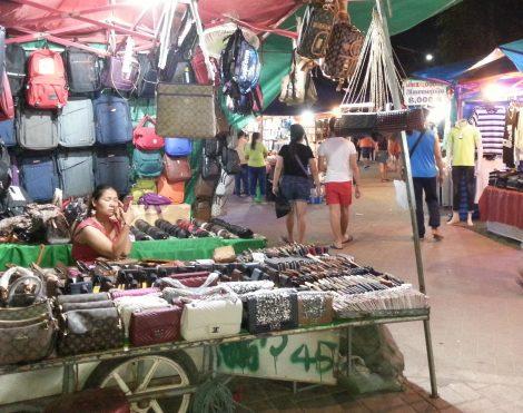 Handbags at Vientiane Night Market