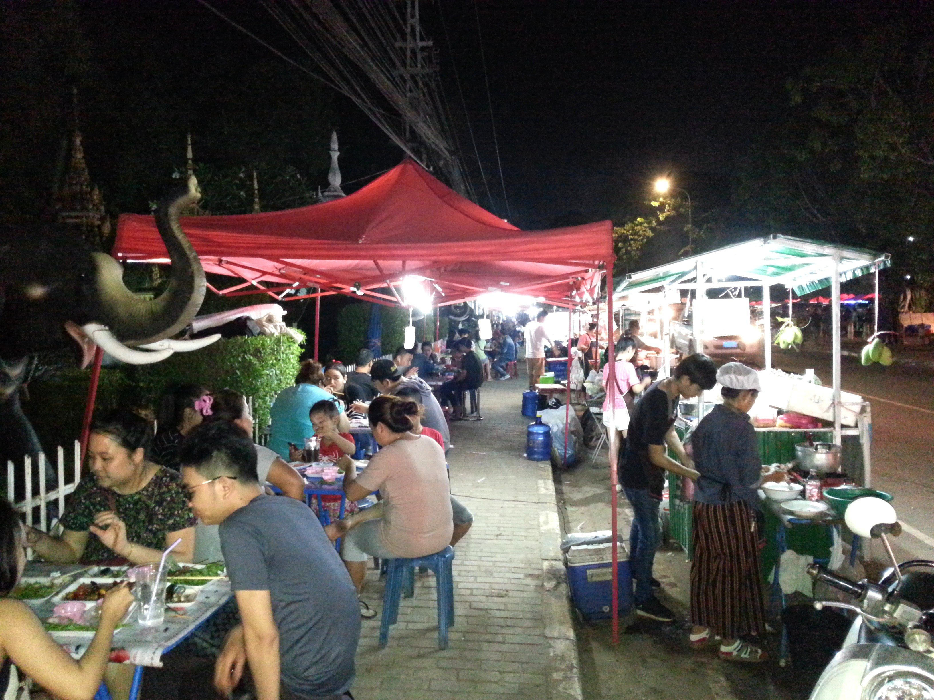 Opposite Vientiane Night Market