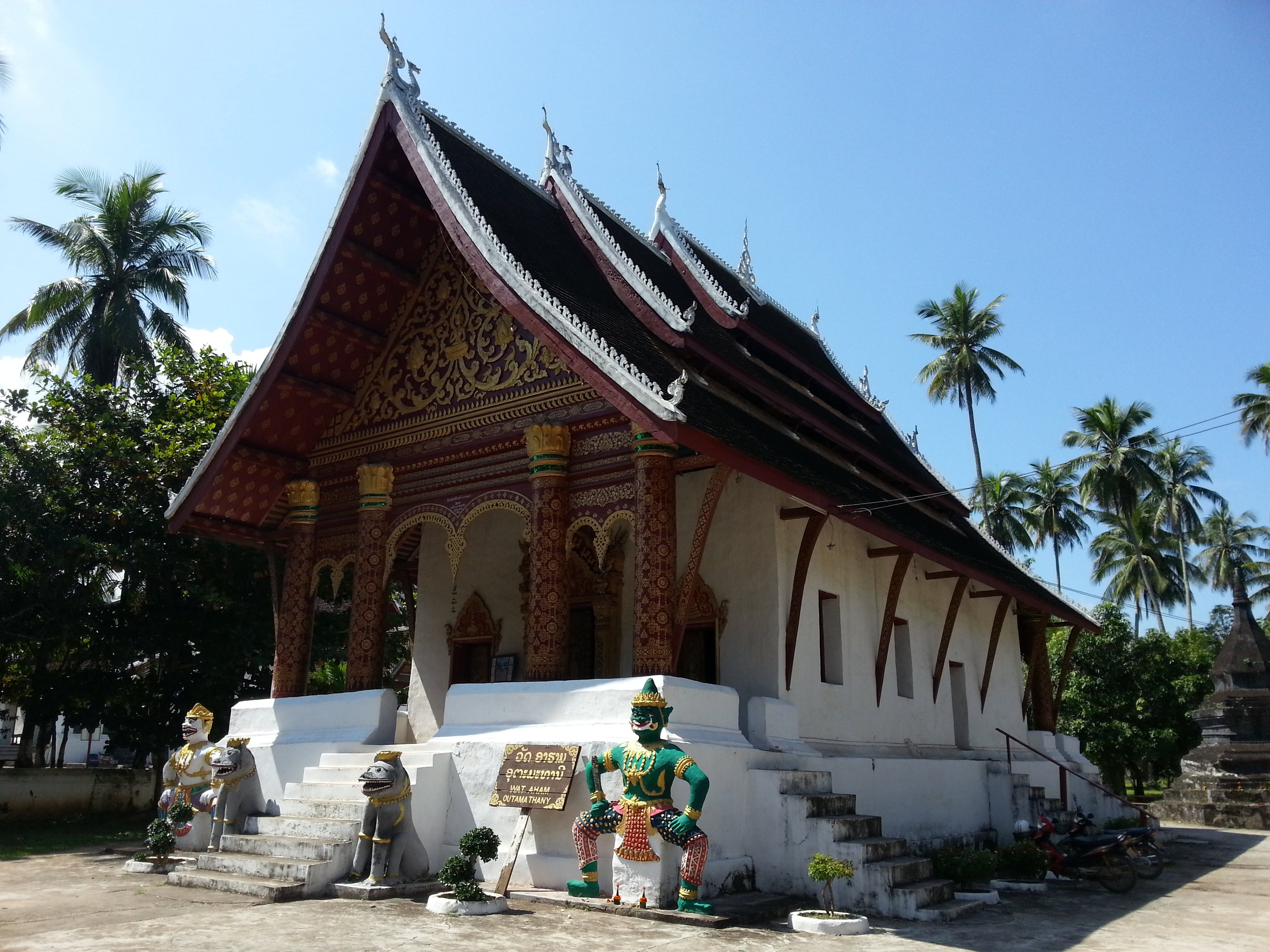 Ordination hall at Wat Aham
