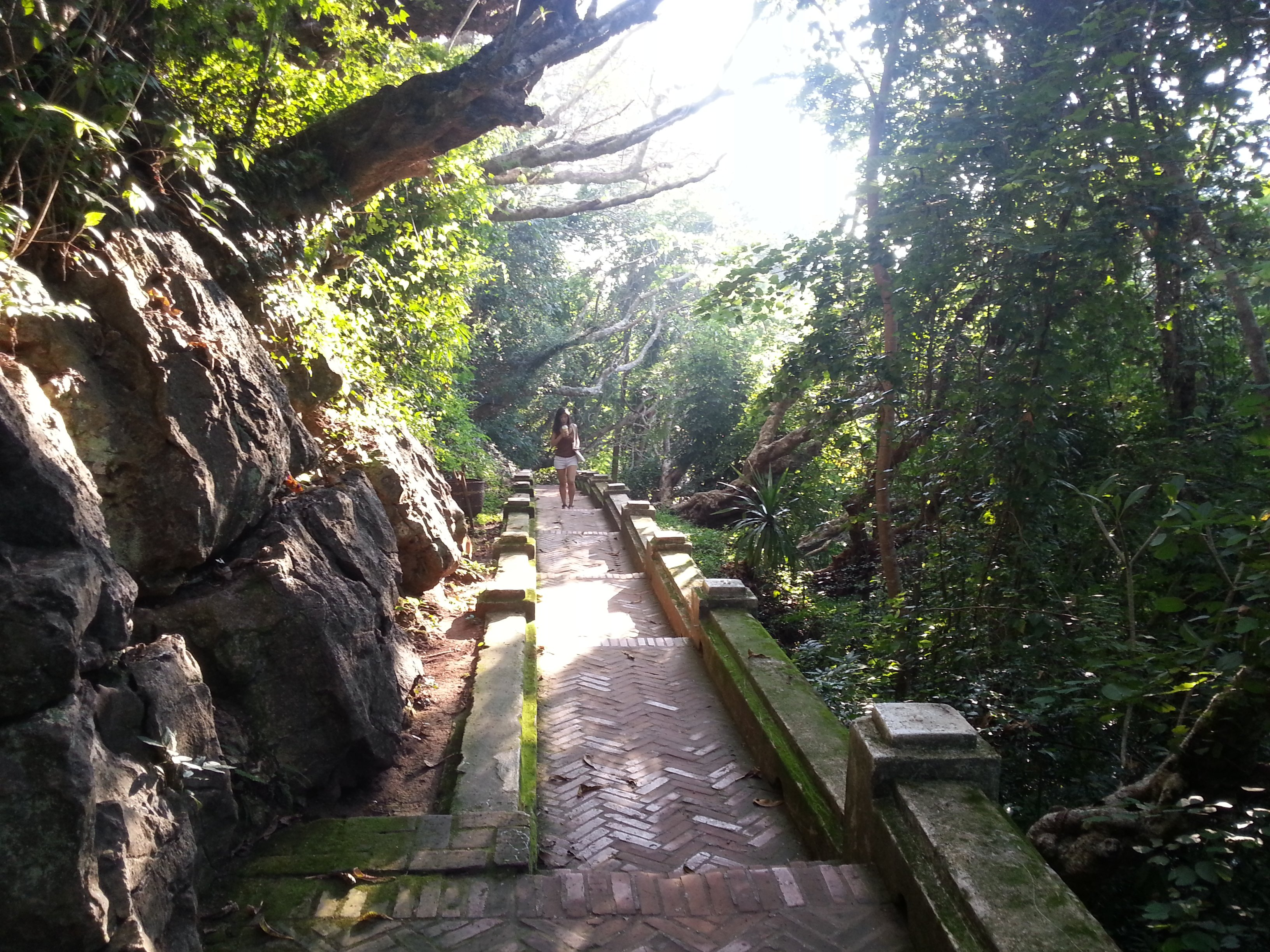 Path up Phou Si Hill