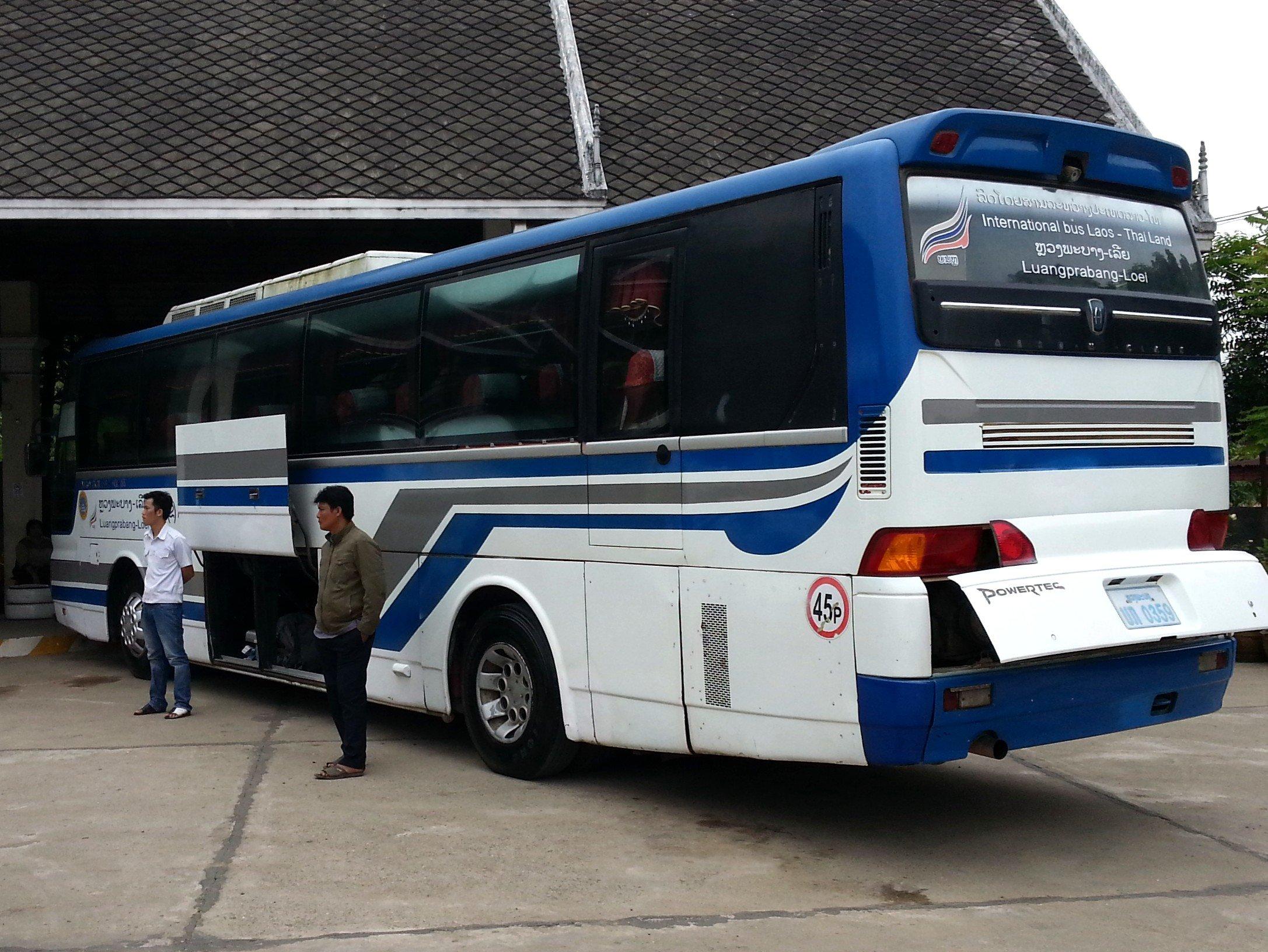 Luang Prabang to Loei Bus