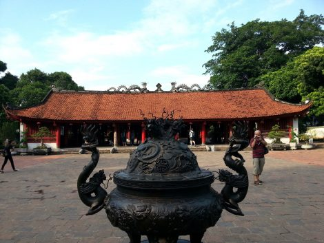 Temple of Literature in Hanoi