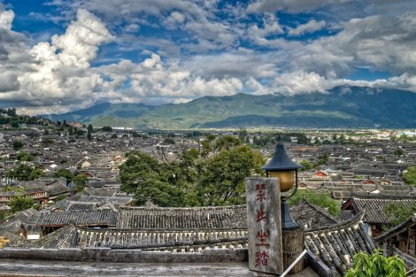 Lijiang City in Yunnan