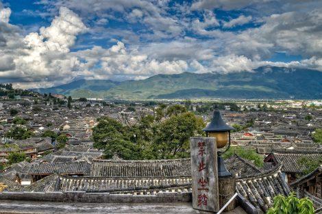 Lijiang City in Yunnan