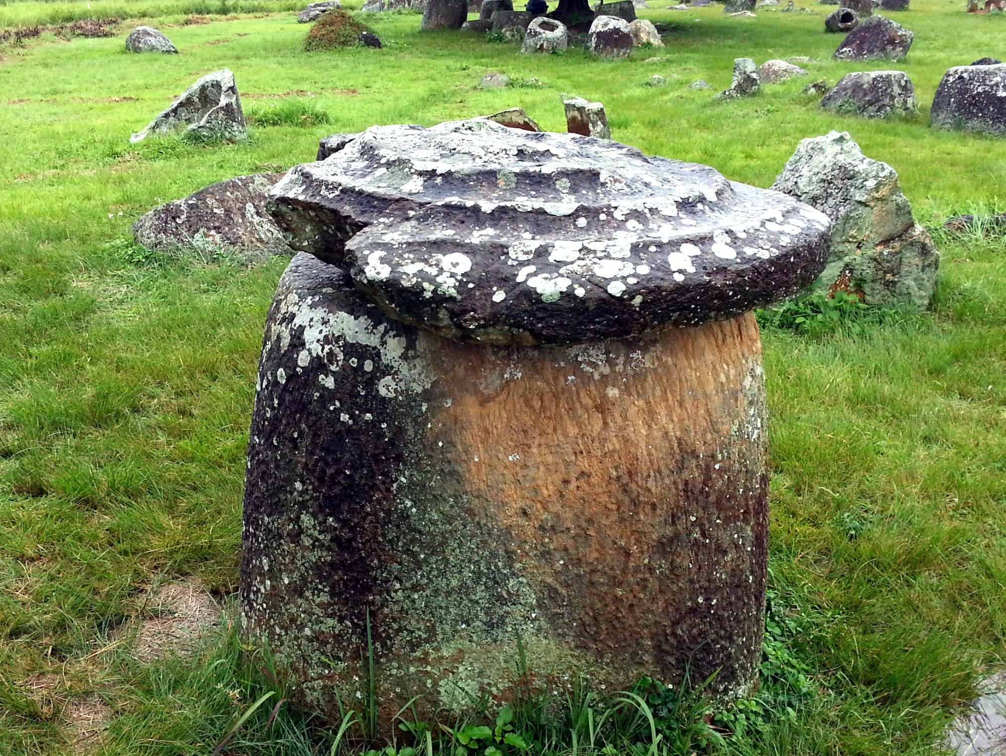 Jar with lid at Jar Site 1