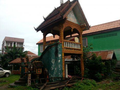 Drum tower at Wat Kang