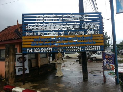 Vang Vieng North Bus Terminal
