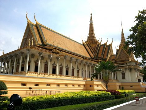Throne Hall at Phnom Penh Royal Palace