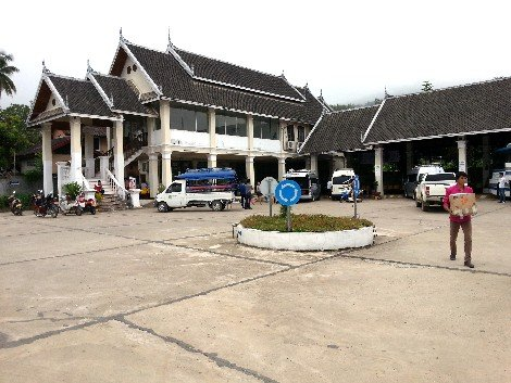 Car park of the Tourist Bus and International Bus Station