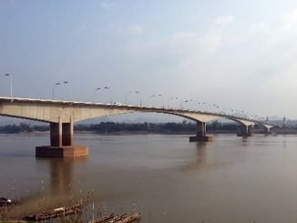 The Third Thai–Lao Friendship Bridge near Thakhek