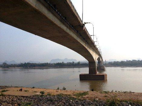 Third Thai–Lao Friendship Bridge near Thakhek