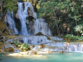 Kuang Si Falls near Luang Prabang
