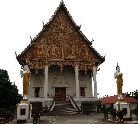 Wat That Luang Neua in Vientiane