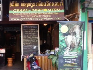 Green Discovery office in Luang Prabang