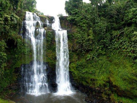 Tad Yuang Waterfall near Pakse