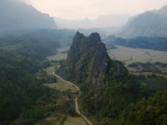 Nam Xay Viewpoint near Vang Vieng