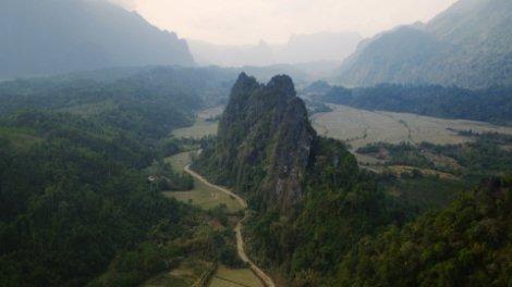Nam Xay Viewpoint near Vang Vieng