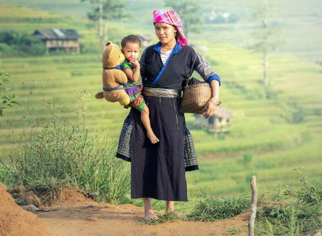 Hmong people of Laos