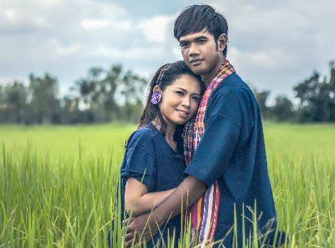 Couples typically marry young in Laos