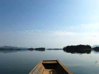 Nam Ngum Reservoir is the largest lake in Laos